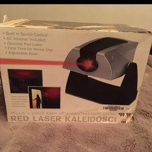 Red laser kaleidoscope new in box